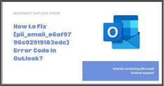 I understand how solving this error code appears like the main thing for you. But before we proceed to a pleasant ride to the solution lane, let us fast understand a few essential things about Microsoft Outlook. Love Photos, Cool Pictures, Microsoft Support, Using Windows 10, Error Code, Perfect Photo, Coding, Image