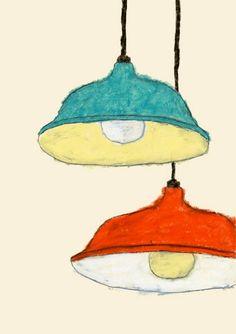 米津祐介 Yusuke Yonezu — lights illustration