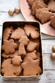 Gluten Free Christmas Cookies, Gluten Free Cookies, Raw Food Recipes, Gluten Free Recipes, Cooking Recipes, Healthy Recipes, Healthy Cake, Healthy Sweets, Dessert Sans Gluten