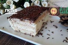 Labneli Muhallebi Pastası