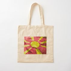 Printed Tote Bags, Cotton Tote Bags, Reusable Tote Bags, Red Lily Flower, Abstract Flower Art, Oriental Lily, Mixed Media Artwork, Tropical Flowers, Digital Prints