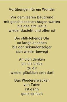 Ohne Dich - Erich Fried | Gedichte und sprüche