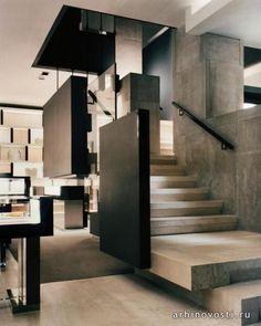 Интерьерный дизайн (Interior Design), Уилльям Софилд (William Sofield), Магазин Гуччи (Gucci), Милан.