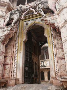 Entrance Garh Palace, Bundi