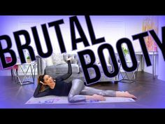 BRUTAL BOOTY! At-Home Pilates Butt Workout! - YouTube