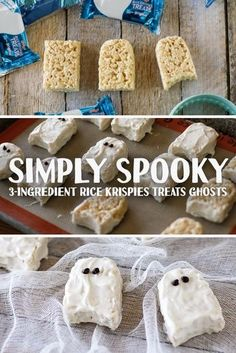 Promoted: A white chocolate coating turns Rice Krispies Treats into spooky ghosts.