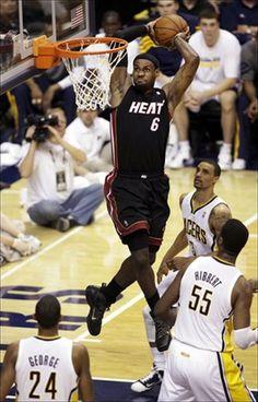 Lebron James  #nice #capture #kos #kingsofsports #dunk #jam #dunks   Www.kingsofsports.com
