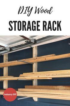 76 best wood storage rack images wood storage garage workshop rh pinterest com
