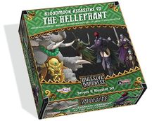 The Heroes & Monster Set: Bloodmoon Assassins vs The Hellephant is an Optional Buy box that introduces the Bloodmoon Assassin class, represented by Valerie, along with two other Heroes, as well as the massive Hellephant Roaming Monster!