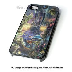 Princess Frog Disney Painting iPhone 4 4S 5 5S 5C 6 6 Plus Case , iPod – Resphonebility