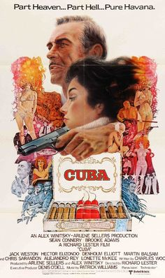 Cuba (1979) Original One Sheet Movie Poster