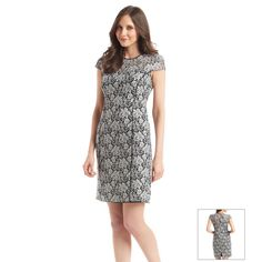 Marc New York Straight Lace Dress
