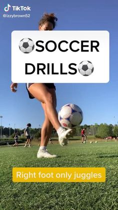 Soccer Footwork Drills, Soccer Practice Drills, Football Training Drills, Soccer Drills For Kids, Football Workouts, Soccer Skills, Play Soccer, Workouts For Soccer Players, Soccer Drills For Beginners