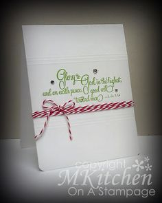 On A Stampage...: 52CCT: May Embellishment Challenge