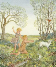 Spring  By Jacynth Parsons.  From the book, Songs Of Innocence by William Blake