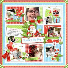 Lickety Splits - Christmas Memories - Christmas Day - Digital Scrapbooking Quick Pages