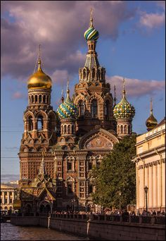 The Church of the Savior on Spilled Blood \\ St. Petersburg, Russia