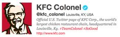 KFC, the fried chicken restaurant franchise founded by Colonel Sanders, has fully embraced social media activity. And it's paying big dividends. A study by Ogilvy found that consumers who were exposed exclusively to social media ads for KFC were seven times more likely to spend more than the average consumer.