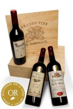In dieser exklusiven Zusammenstellung erhalten Sie drei großartige Bordeaux-Weine, verpackt in einer schönen Holzkiste. https://www.plus.de/p-1424339000?RefID=SOC_pn