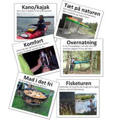 Naturevents - action og afslapning i det fri