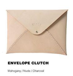 Ilundi  Envelope Clutch www.facebook.com/ohanadesignersstudio