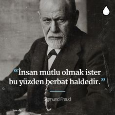 İnsan mutlu olmak ister; bu yüzden berbat haldedir. - Sigmund Freud