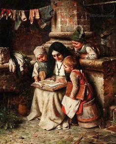 Hermann Kaulbach (1846-1909), Hora das histórias
