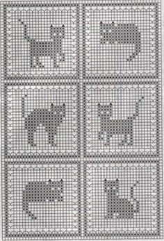 crochet filet patterns - Buscar con Google