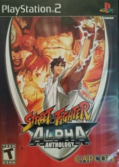 Street Fighter Alpha Anthology (Sony PlayStation 2, 2006) - DISC ONLY #ps2 #ps2games #retrogames #videogames #streetfighteralpha