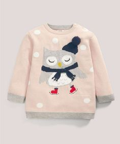 Christmas Owl Jumper - Knitwear - Mamas & Papas