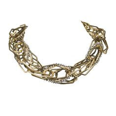I love the Jardin Modern Link Necklace from LittleBlackBag