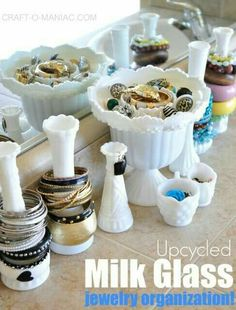 My Milk Glass Collection