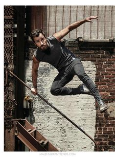 Male Fashion Trends: Justin Theroux por Patrik Giardino para Men's Health UK
