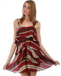 Tier Tank Dress – mimosaalley.com