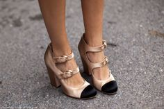The double strap shoe–thank you stockholm street style
