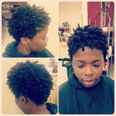 Natural hairstyles by me... Quick n easy protective style on Pinterest ...