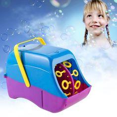 Die Seifenblasenmaschine produziert mehrere Hundert besonders stabile Seifenblasen in einer Minute. Ein Highlight für besondere Events.