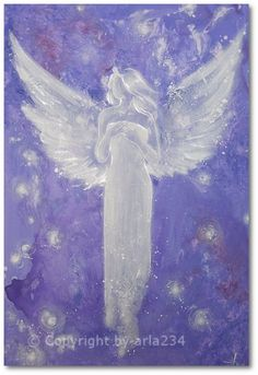 Limited angel art photo guardian angel  modern by HenriettesART, €10.00