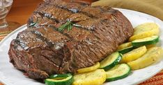 Chuck eye steak is taken from the shoulder area of a cow. It requires strong seasonings and fast, high heat cooking because it is less flavorful and moist than other cuts of beef. If prepared correctly, the high heat will seal juices within the meat for the best flavor. Chuck eye steak requires approximately 20 minutes for the seasonings to soak...