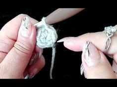 Magische ring dubbeldraads haken - crochet magic ring very easy