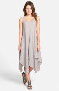 Eileen Fisher Handkerchief Hem Scoop Neck Tank Dress (Regular & Petite) (Online Only) available at #Nordstrom-$226.80