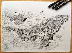 Ascention Sketchy Stories by Kerby Rosanes