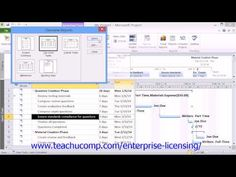 A clip from Mastering Microsoft Project Made Easy:  Creating Basic Reports- 2010 Version.. Get a FREE demo of our training for groups of 5 or more at www.teachucomp.com/enterprise-licensing/  Visit us today! www.teachucomp.com