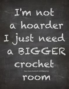 Crochet Room ❥ 4U hilariafina  http://www.pinterest.com/hilariafina/