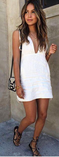#sincerelyjules #spring #summer #besties  Little Linen White Dress
