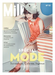 Couverture Milk magazine _ mode enfant bébé _ Fashion kids _ COUV51_FR-RVB-HD