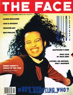 The Face November 1988 Neneh Cherry Nick Cave Larry Blackmon Emo Phillips EXCLT