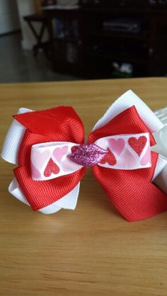 Valentine's Day Bow