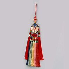 cicada norigae (accessory for Hanbok)
