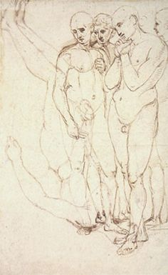 Raphael, Study for Entombment. Pen and Ink. Italian Renaissance, Museum, Ink, Female, Drawings, Artist, Study, Raffaello, Sketches
